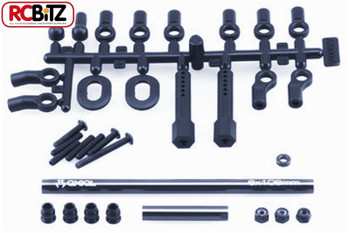 Axial RTR Alluminium Steering Link Upgrade Kit for the Axial AX10 SCX10 Add strength