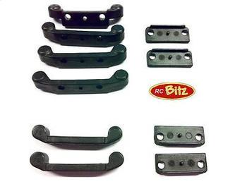 Carisma GT14 Hinge Pin Mounts NARROW CA143396 or WIDE CA14337 0 2 3 4 Toe-in set[Narrow CA14396]