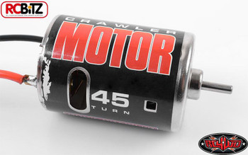 540 Crawler Brushed Motor by RC4WD 45T Z-E0004 Bullet Connectors TF2 G2 SCX10 RC