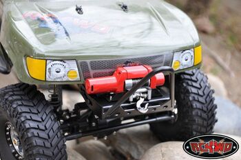 Tough Armor Competition Stinger Bumper Axial SCX10 2.2 tyres WINCH Mount Z-S0640