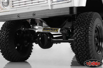 Superlift Adjustable Steering Stabilizer 90 120mm stabaliser RC4WD White Z-S0986