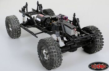 RC4WD Tough Armor Front Lightbar Bumper for Axial SCX10 or REAR Z-S0755 METAL