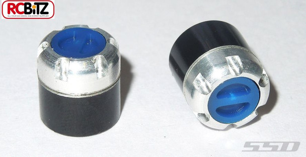 SSD Scale Locking Hubs only BLUE Dodge SSD0007 replace wheel nuts TOOL NEEDED