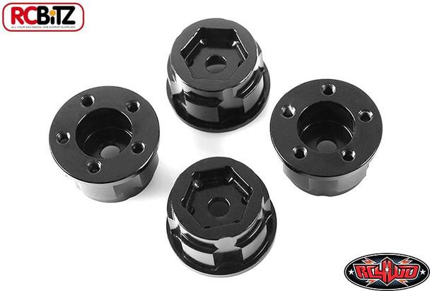 "1.9"" 2.2"" 5 lug Stamped Steel Wheel 12mm Hex Hub + 9 mm Offset RC4WD Z-S1278"