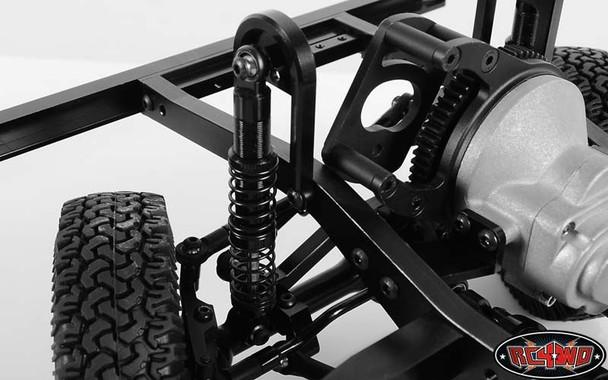 Dual Spring 80mm Scale Black Shocks Ver 2 BlackZ-D0039 Gelande II G2 RC4WD