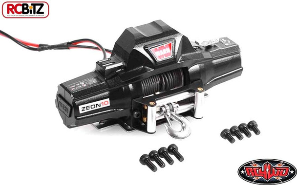 RC4WD 1/8 Warn Zeon 10 Winch DUAL Motor 8kg Pull Rate Metal Scale Detail Z-E0069