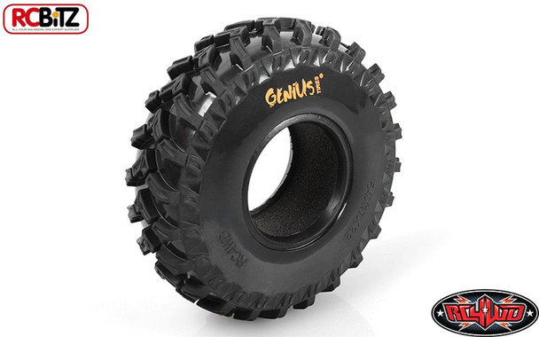 Genius Sem Fronteira 2.2 scale Tires SOFT Agressive Tread RC4WD Tyre Z-T0131 RC