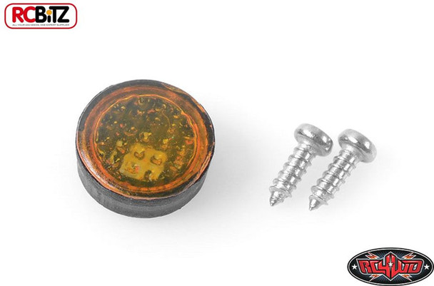 1/10 1/14 D90 Small Yellow Light INDICATOR Turn SIGNAL G2 II TOY RC4WD VVV-C0099