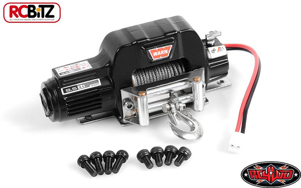 RC4WD 1/10 Mini Warn 9.5cti Winch Z-S1571 SMALL with Mounting plate & Screws