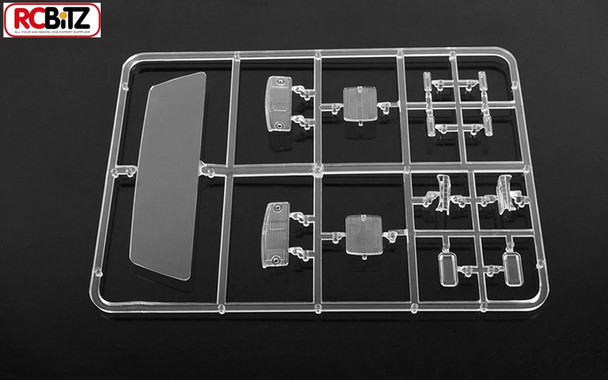 RC4WD Mojave Clear Parts Tree Rear Window Head light lenses marker Z-B0078 TF2