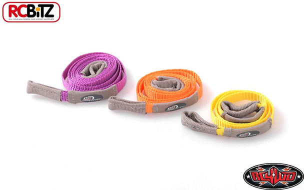 RC4WD TOY ARB Winch Strap Tree Strop Line Rope Set 3 lengths Z-S1618 406-1016mm