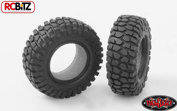 """Rock Crusher Micro Crawler Tires 18th Scale 1.0"""" D90 Gelande RC4WD Z-T0027 Tyre"""