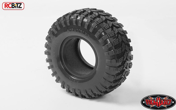 """Scrambler Offroad 1.9"""" Scale Tires Class 1 Tyre Soft Grippy G2 RC4WD Z-T0144 RC"""
