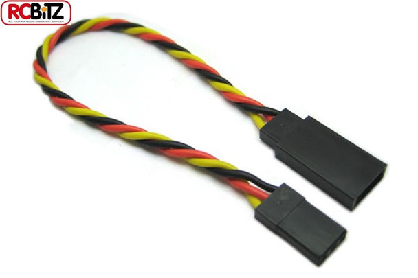 Etronix JR Receiver Twisted Extension Wire Servo ESC Lead Cable 10 cm ET0732 RC