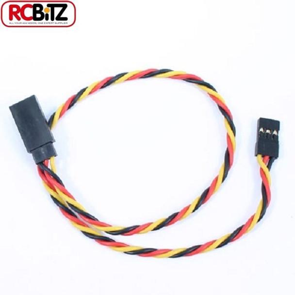 Etronix JR Receiver Twisted Extension Wire Servo ESC Lead Cable 30 cm ET0735 RC