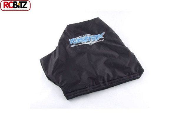 Fastrax Transmitter thermal muff mit cover wheel Window Protect in use FAST678