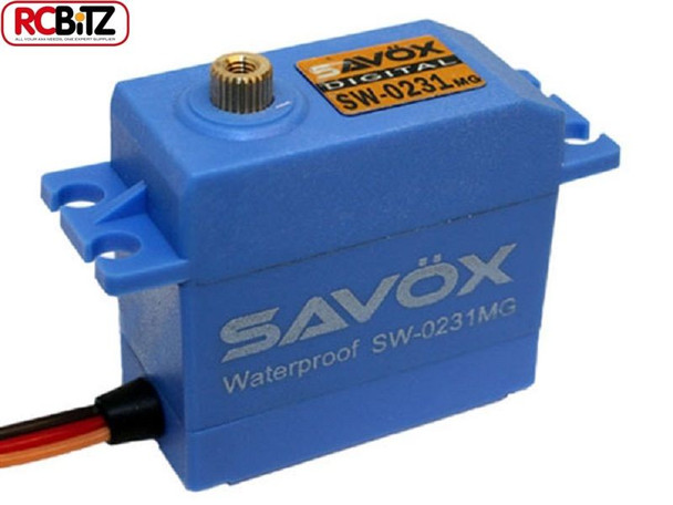 Savox SW0231MG Waterproof High Torque STD Metal Gear Digital Servo SAV-SW0231MG