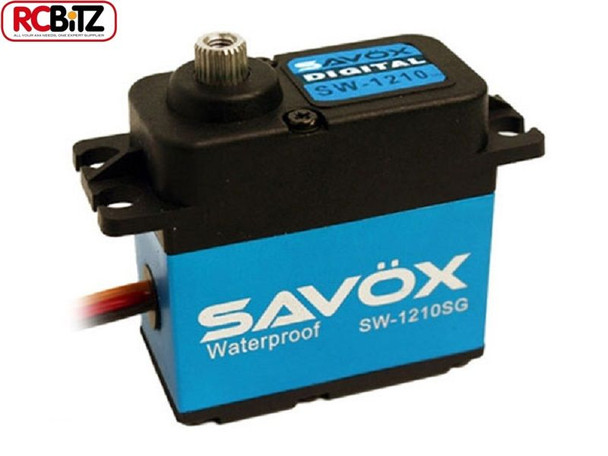 Savox SW-1210SG Waterproof Coreless Steel Gear Digital Servo SAV-SW1210SG