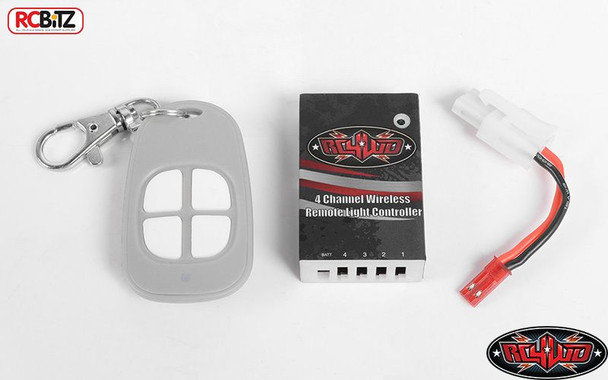 RC4WD 4 Channel Wireless Remote Light Bar Controller TURN On/Off Z-E0093 RC