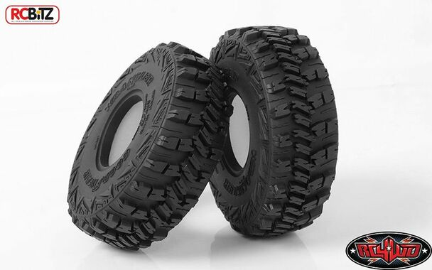 """RC4WD Goodyear Wrangler MT/R 1.9"""" 4.75"""" Scale Tires Z-T0158 Tyre Axial SCX10 II"""