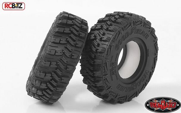"""RC4WD Goodyear Wrangler MT/R 1.9"""" 4.19"""" Scale Tires Z-T0160 Tyre Class 1 RC"""