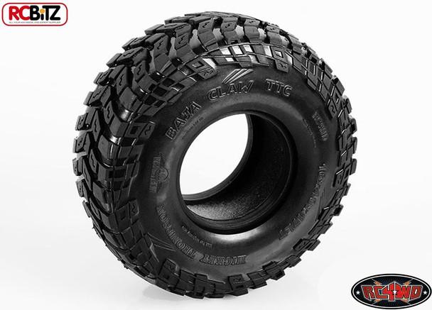 RC4WD Mickey Thompson 1.7 Baja Claw TTC Radial Scale Tires 2 w/ Foams Z-T0111