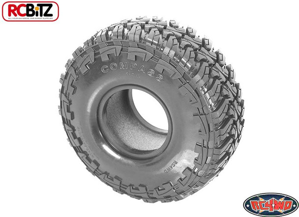 Compass 1.9 Scale Tires Tyre X2 SS SOFT WIDE Great All Terrain RC4WD Z-T0113