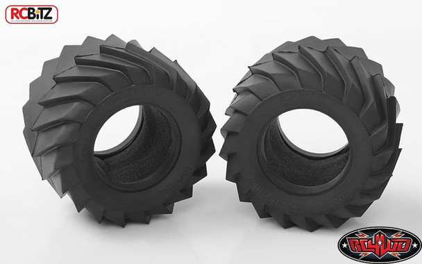 "RC4WD Giant Puller 1.9"" Pulling Tires Z-T0070 Wide Tyre Aggressive X4 Compound"