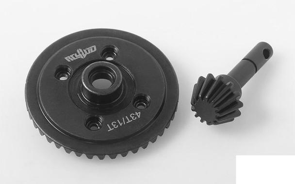 Heavy Duty Bevel Gear Set 43T 13T RC4WD Z-G0072 D44 Diff Pinion UNDER DRIVE