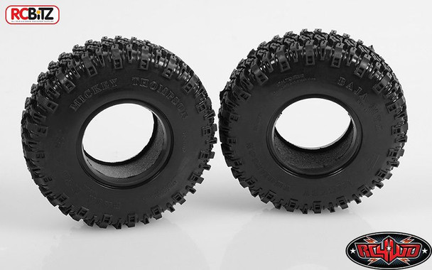 Mickey Thompson 1.9 Baja MTZ Scale Tires Comp Soft Sticky w/ Foams Z-T0061 RC4WD