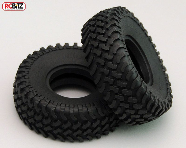 "Mud Thrashers 1.55"" Scale Tyres RC4WD with Foams tyre Very Scale looking Z-T0100"