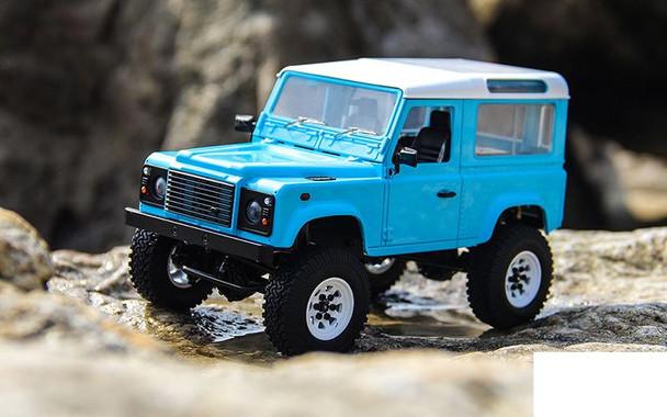 RC4WD 1/18 Gelande II RTR w/ D90 Body BLUE Z-RTR0039 inc Battery Charger LiPo