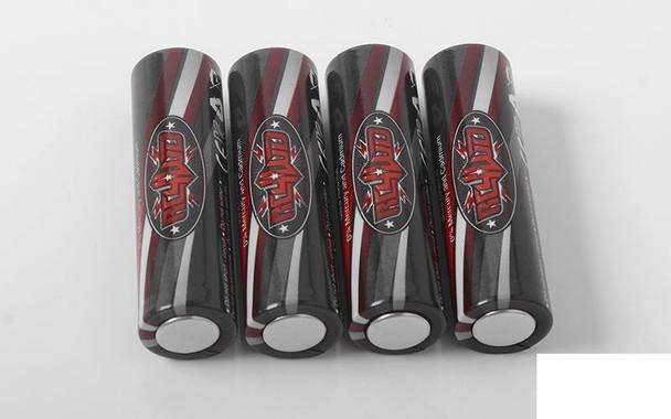 RC4WD AA Batteries x4 Z-S1718 RC Radio TX Transmitter Ultra Alkaline 1.5v
