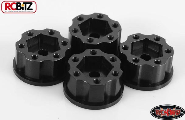 """RC4WD 1.9"""" 6 Lug Steel Wheel Hex Hub +6 Offset OEM Waggon Stamped Wheels Z-S0779"""
