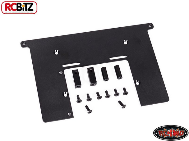 Electronics Top Plate Servo Battery Mount Trail Finder II TF2 RC4WD Tray Z-S0678