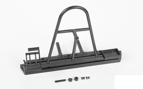 Rear Swing Away Tire Carrier Bumper for Traxxas TRX-4 Z-S1868 RC4WD TRX4 TRX 4