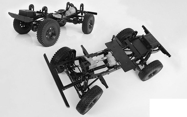 RC4WD Gelande II Truck Kit 1/10 Chassis Kit Z-K0060 275mm WB NO Body G2 D90