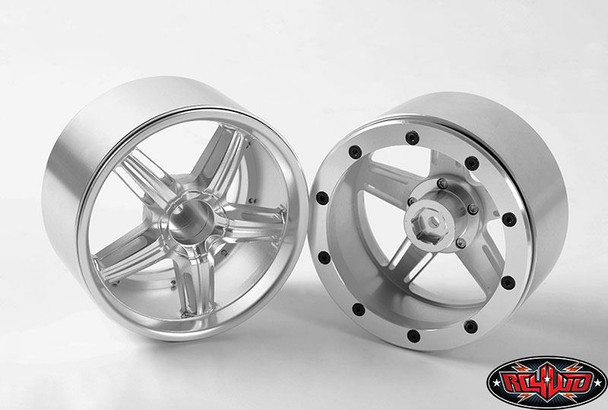 Locker Beadlock Wheels for Traxxas Revo T-Maxx 3.3  17mm 14mm Z-W0144 RC4WD