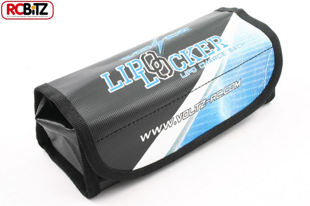 VOLTZ Charger VAULT LIPO LOCKER Easier to Use than A SACK for Chraging lies flat