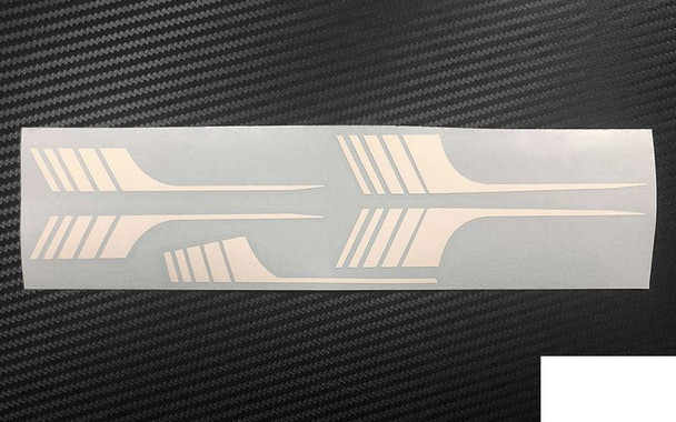 RC4WD Surf Stripes TOY 1985 4Runner Sheet White Z-B0210 Decal Sticker Transfer