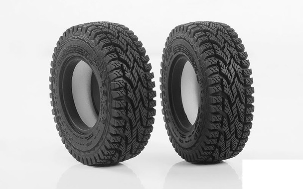"RC4WD Milestar Patagonia A/T 1.7"" Tires Z-T0181 85mm OD Tyre Narrow 28mm"