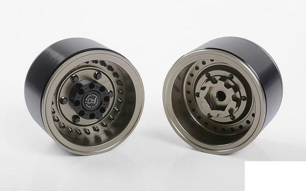 "RC4WD Black Rhino Armory Internal Beadlock Deep Dish 1.9"" Wheels Z-W0293 RC4WD"