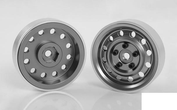 """Tango Down 1.9"""" Internal Beadlock Wheels (Gun Metal) Z-W0297 RC4WD NARROW"""