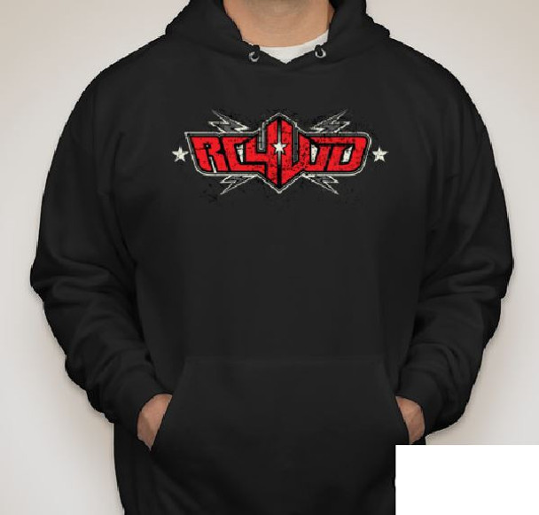 RC4WD Scale Logo Hoodie (2XL) Z-L0195 XXL Tri Color Screen Printed Design Hoody