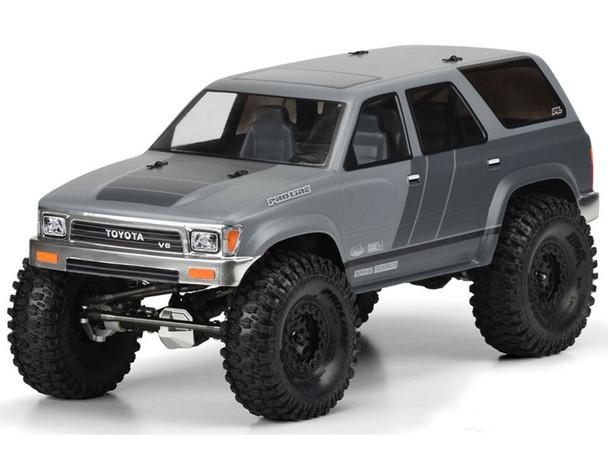 Proline 1991 Toyota 4Runner Clear Body 313mm W/B Crawler PL3481-00 SCX10 II