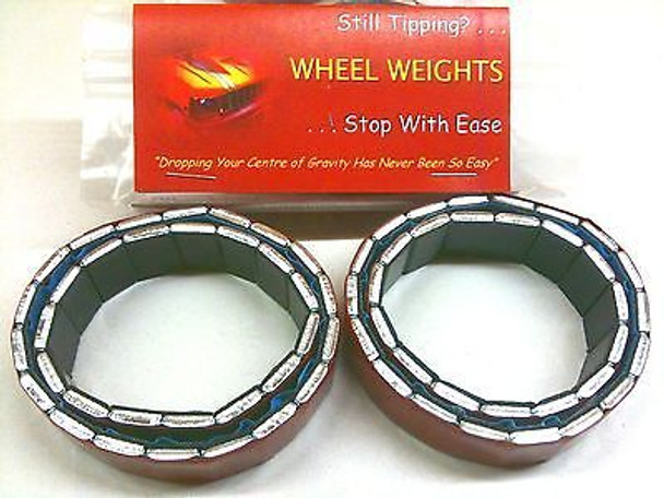 Rock Crawler Wheel Weights for 2.2 eg AX10 SCX10 Axial Wraith XR10 Ridgecrest