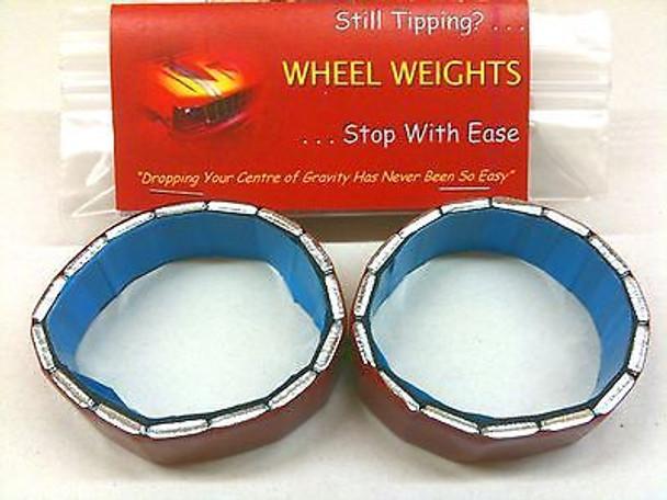 rcBitz Wheel Weights 75g a 2.2 Wheel eg Axial Scorpion ARTR RTR and Kit wheels