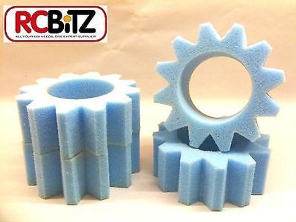 TRIMMED INNER FOAMS 4 for 1.9 RC Wheels eg SCX-10 Axial