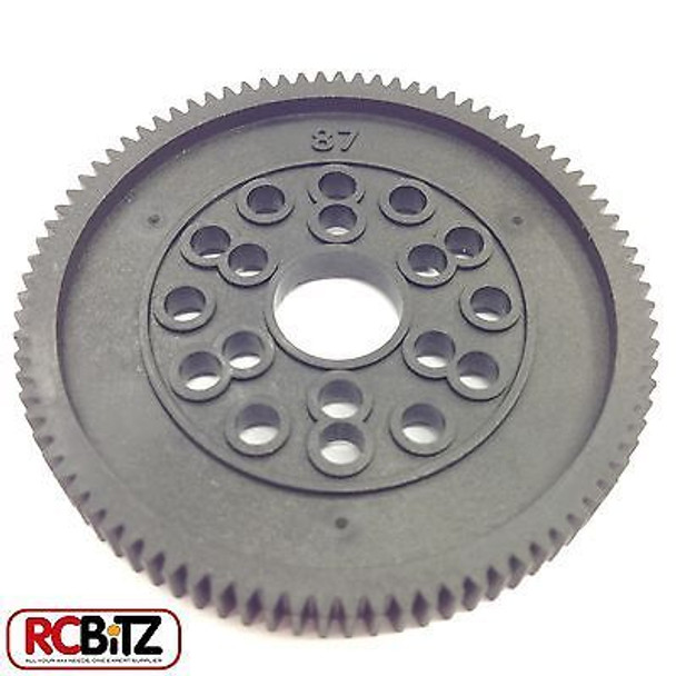 Spur Gear AX30672 48DP 87T for SCX10 Honcho Dingo Jeep regain SMOOTH transmisio