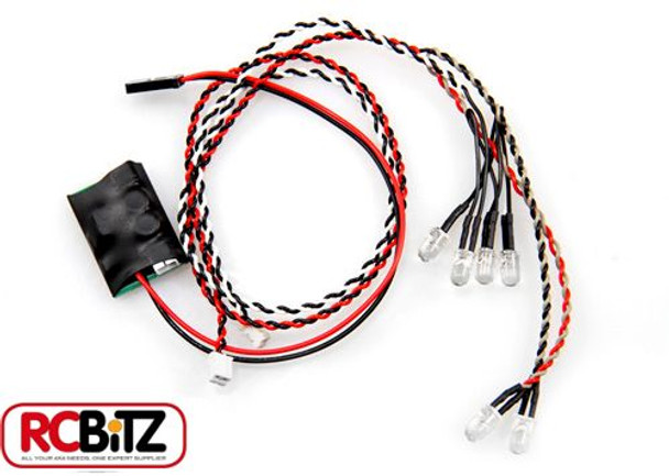 Axial Simple LED Controller 4 WHITE 2 RED Lights Simple Plug connect AX24257